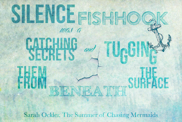 The Summer of Chasing Mermaids, art by Zoey Talbon at Uncreatively Zoey